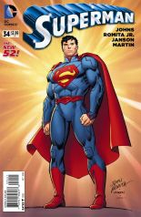 SUPERMAN #34 VARIANT B