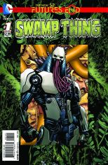 SWAMP THING FUTURES END #1 STANDARD COVER