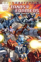 TRANSFORMERS MORE THAN MEETS THE EYE #32