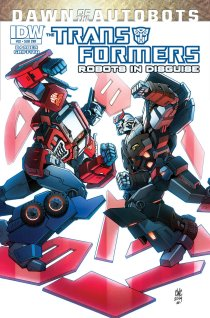TRANSFORMERS ROBOTS IN DISGUISE #32 SUB COVER