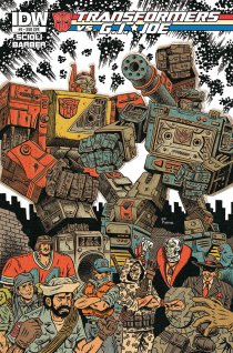 TRANSFORMERS VS. G.I. JOE #2 SUB COVER