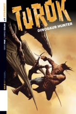 TUROK DINOSAUR HUNTER #7 SUB COVER