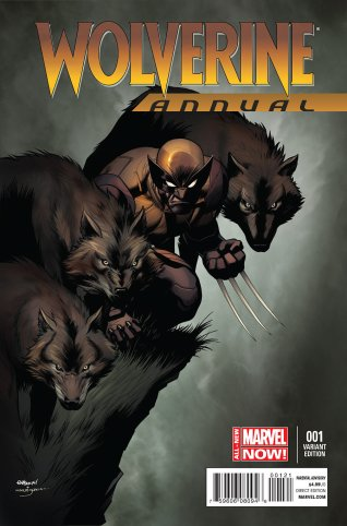 WOLVERINE ANNUAL #1 VARIANT