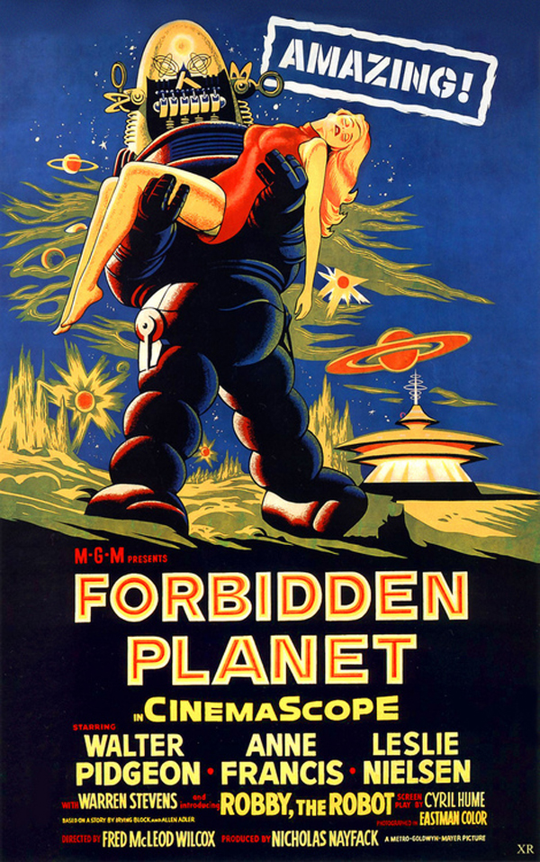 """1956 … Forbidden Planet"" by X-ray Delta One"