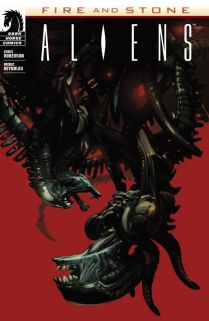 ALIENS FIRE AND STONE #1 VARIANT