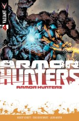 ARMOR HUNTERS #4 VARIANT A
