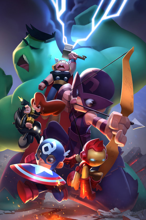 Avengers GO! by Sean Galloway and Brian Lawver