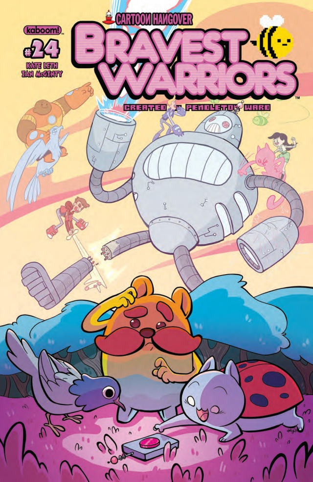 Bravest Warriors #24 Cover A