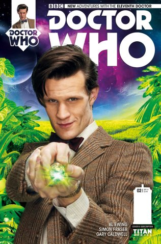 DOCTOR WHO THE ELEVENTH DOCTOR #2 VARIANT A