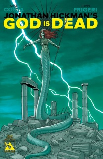GOD IS DEAD #20 END OF DAYS COVER