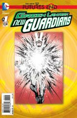 GREEN LANTERN NEW GUARDIANS FUTURES END #1 STANDARD COVER