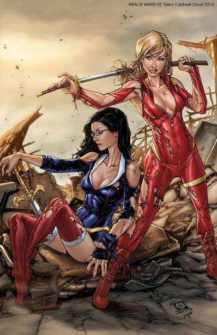GRIMM FAIRY TALES REALM WAR #2 COVER C