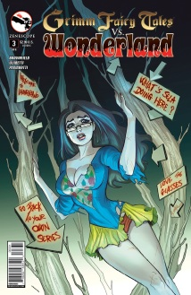 GRIMM FAIRY TALES VS. WONDERLAND #3 COVER C