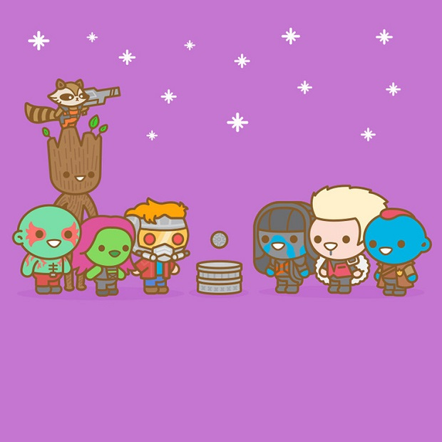 Guardians of the Galaxy - The Orb by Truck Torrence