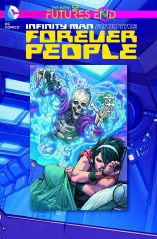 INFINITY MAN AND THE FOREVER PEOPLE FUTURES END #1 STANDARD COVER