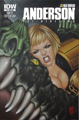 JUDGE DREDD ANDERSON PSI-DIVISION #2 SUB COVER