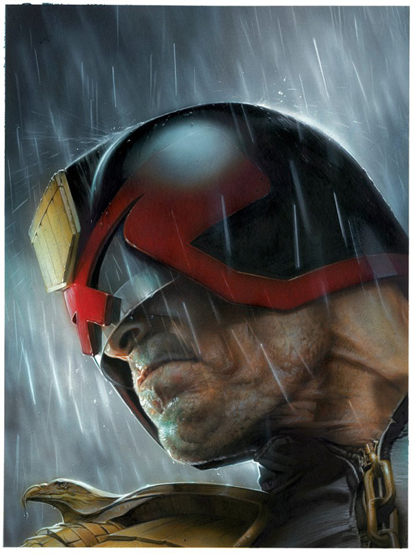 Judge Dredd by Greg Staples