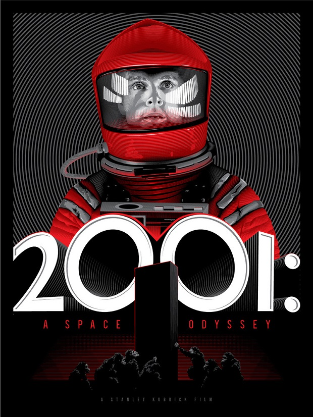 Kubrick Trilogy 2001 A Space Odyssey by Tracie Ching