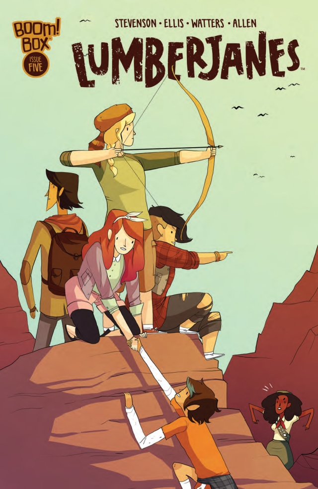 Lumberjanes #5 Cover A