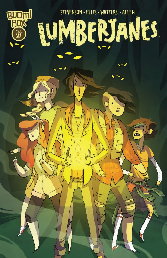 Lumberjanes #6 Cover A