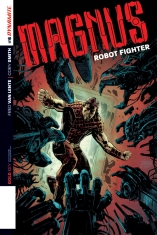MAGNUS ROBOT FIGHTER #6 HARDMAN COVER