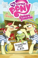 MY LITTLE PONY FRIENDS FOREVER #9