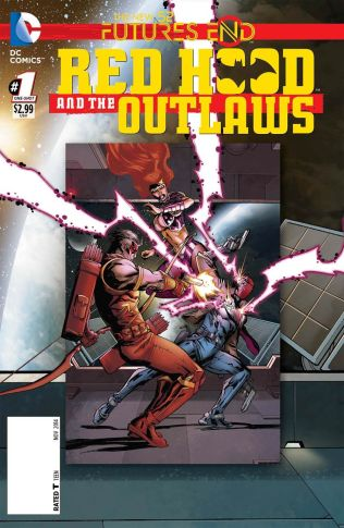 RED HOOD AND THE OUTLAWS FUTURES END #1 STANDARD COVER