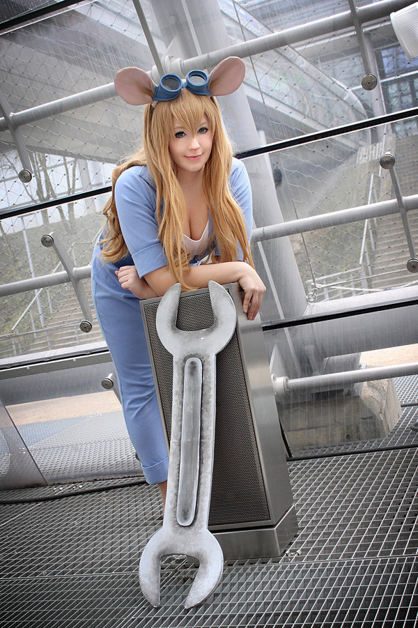 Rescue Rangers Gadget Hackwrench Cosplay by K-A-N-A