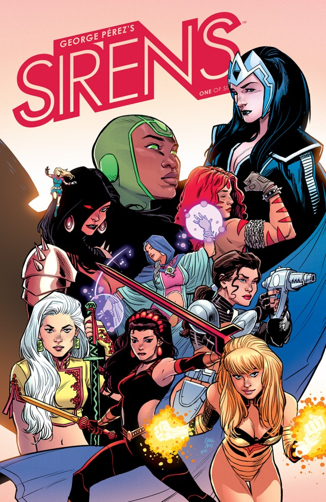 BOOM! Studios Comic Book Previews: George Pérez's Sirens #1 + Sons