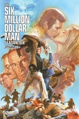 SIX MILLION DOLLAR MAN SEASON 6 #6 ROSS COVER