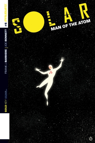 SOLAR MAN OF THE ATOM #5 DOE COVER