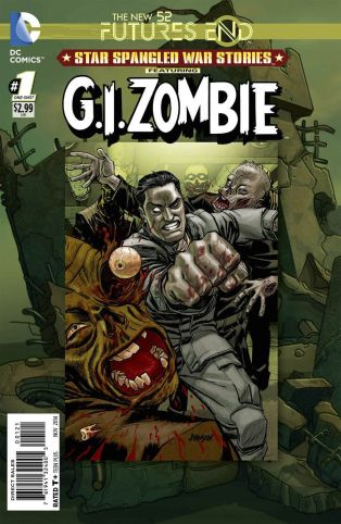 STAR SPANGLED WAR STORIES G.I. ZOMBIE FUTURES END #1 STANDARD COVER