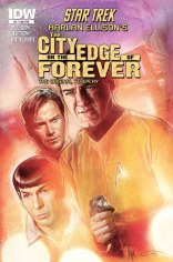 STAR TREK THE CITY ON THE EDGE OF FOREVER #4 SUB COVER