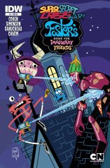 SUPER SECRET CRISIS WAR FOSTERS HOME FOR IMAGINARY FRIENDS #1 VARIANT COVER