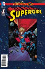 SUPERGIRL FUTURES END #1 STANDARD COVER