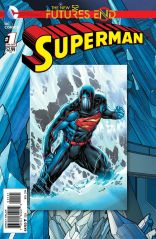 SUPERMAN FUTURES END #1 STANDARD COVER