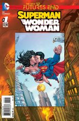 SUPERMAN WONDER WOMAN FUTURES END #1