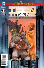 TEEN TITANS FUTURES END #1 STANDARD COVER