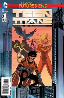 TEEN TITANS FUTURES END #1