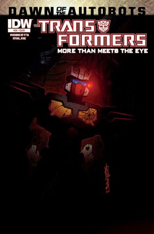 TRANSFORMERS MORE THAN MEETS THE EYE #33