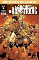 ARCHER & ARMSTRONG #25 VARIANT B