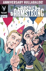 ARCHER & ARMSTRONG #25 VARIANT D