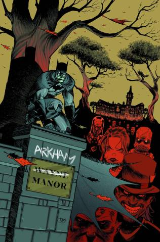 ARKHAM MANOR #1