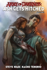ARMY OF DARKNESS ASH GETS HITCHED #3 SUB COVER