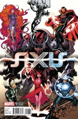 AVENGERS X-MEN AXIS #1 VARIANT F