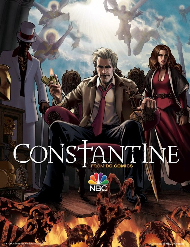 Constantine TV Show Promo Poster by Gene Ha