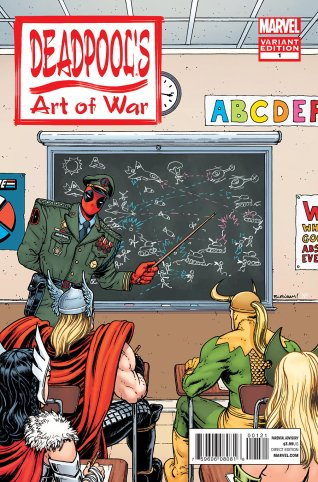 DEADPOOL'S ART OF WAR #1 VARIANT A