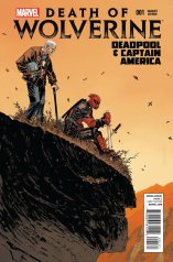 DEATH OF WOLVERINE DEADPOOL & CAPTAIN AMERICA #1 VARIANT A