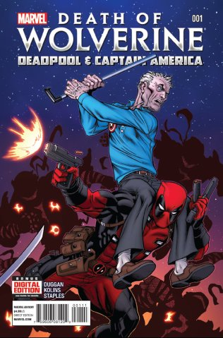 DEATH OF WOLVERINE DEADPOOL & CAPTAIN AMERICA #1