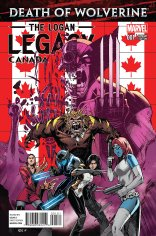 DEATH OF WOLVERINE THE LOGAN LEGACY #1 VARIANT B